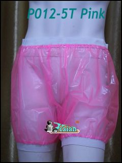 Adult Baby Incontinence Plastic Five inch Pants P012 5T Size M L XL