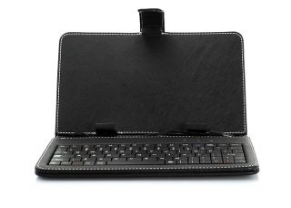 Leather Keyboard Case for 7 inch Android Tablet PC Samsung Galaxy Tab