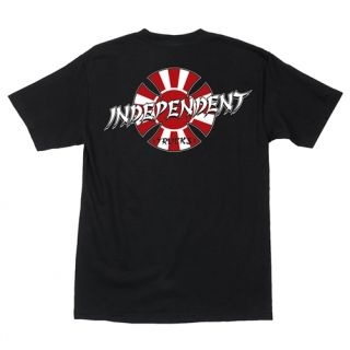 Independent Trucks T Shirt Christian Hosoi Rising Sun Indy Tee Shirt