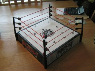 WWE Wrestling ring for 6inch action Figures comes with chair WWE belt