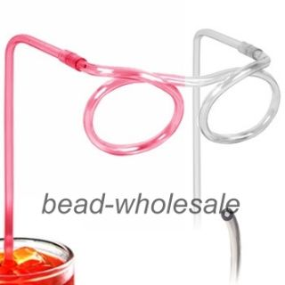 Flexible Soft Glasses Silly Drinking Straw Glasses For Kids Party Fun
