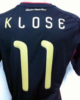 Original 2010 Germany Away Soccer Jersey Klose 11 All Sizes