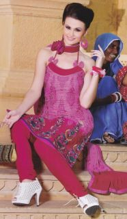 Salwar Kameez Indian Suits Designer Silk Bollywood Cotton Suit