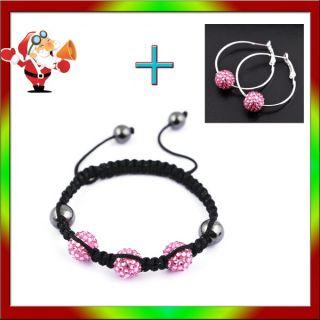 1P 12Colors Resin Crystal Disco Ball Beads Weave Macrame Hip Hop