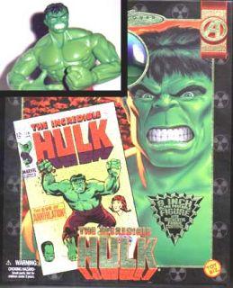 Marvel Avengers Famous Cover Action Figure Hulk Mego Styled 9 inch