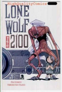 Name of Comic(s)/Title? LONE WOLF 2100 #7( Independent).