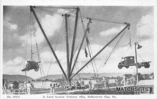 Indiantown Gap PA A Land Locked Training SHIP Military Postcard