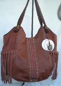 The Sak Indio Maple Stitch Leather Large Tote Hoboboho Shoulder Bag