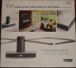 Terk Low Profile Indoor Antenna TV5