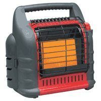 NEW MR HEATER F274800 PROPANE PORTABLE BIG BUDDY HEATER INDOOR SAFE