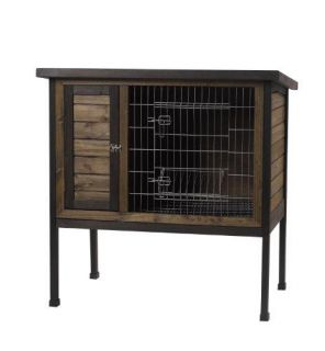 Trixie s rabbit hutch w peaked roof small pet boutique