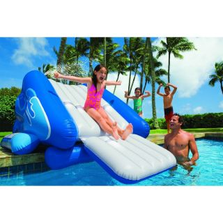 Inflatable Water Swimming Pool Slide Set Portable Indoor Outdoor New