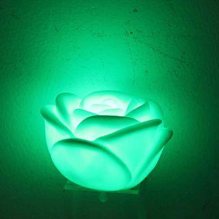 EUR € 2.38   Bella Fiore sfera stile colorato luce LED Lampada Notte