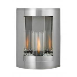 Indoor Outdoor Fireplace Venturi Flame Swirl Firepit Lamp Safe Gel