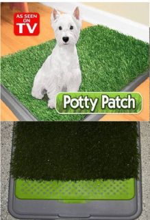 Dog Puppy Pet Potty Patch Training Pad as Seen on TV New Open Box Item