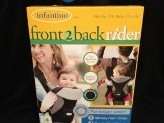 Infantino Baby Carrier Front 2 Back Rider