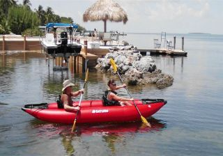 13 Saturn Expedition Inflatable Kayak for 2 Persons