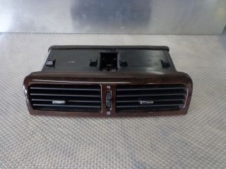 1997 1998 Infiniti Q45 Upper Wood Grain Heater AC Vent Panel Grille