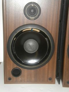 Vintage Infinity SM 105 Speakers Polycell Tweeters 10 Woofers Need
