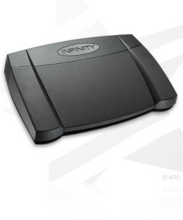 Infinity in USB2 Universal PC Application Foot Pedal 086483061585