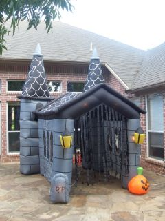 prototype gemmy halloween haunted house inflatable airblown