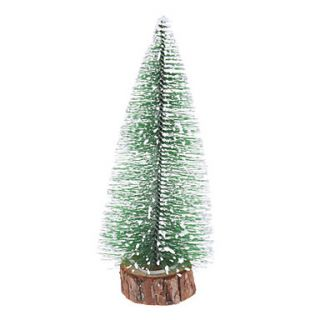 USD $ 2.49   17cm 7 Frosted Pine Christmas Tree Desk Top Ornaments