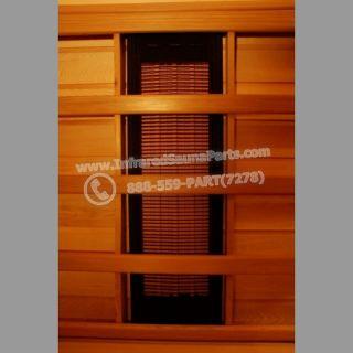 Infrared Sauna Cedrus EMF Ceramic Infrared Sauna Heater 300 Watts 120V