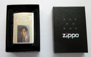 Japanese Anime Initial D Zippo Lighter Limited Edition Tv Manga Movie