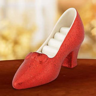 Lenox Ruby Slipper Slippers Wizard of oz Dorothy Porcelain Figurine