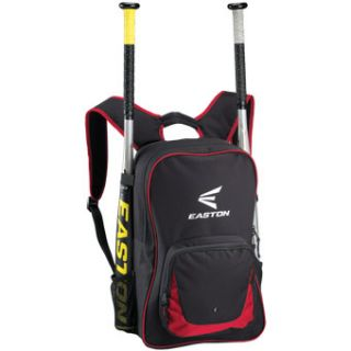 Easton Eon Baseball Softball Bat Pack Backpack Bag Black Red