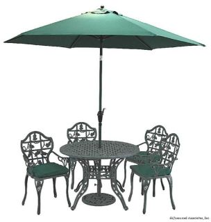 Innova Ivy Outdoor Patio Dining Table Chair Set