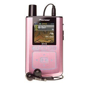 Pioneer Inno XM2go Portable Satellite Radio  Player Pink