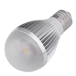 10W E27 Pure White High Power LED Light Screw Ball Lamp Bulb Globe
