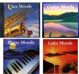Instrumental Moods Collection 4 CD Set 80 Classic Love Songs