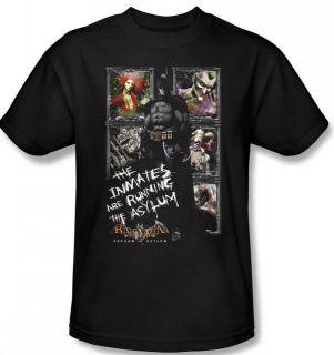Batman Arkham Asylum Video Game Game Inmates DC T Shirt Top