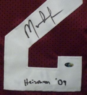 Mark Ingram Autographed Signed Alabama Crimson Tide Size XL Jersey w