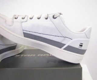 Star Shoes Integer Leather and Textile Designer White Men New