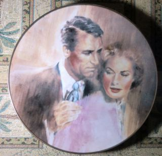 Indiscreet Cary Grant Ingrid Bergman Collector Plate