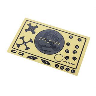 USD $ 2.54   Chinese Dragon Tattoo Sticker For PSP 3000(Silver),