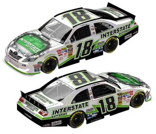 2011 Kyle Busch 18 Interstate Batteries Flash Coat Finish