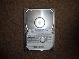 Maxtor Internal Hard Drive 10g IDE PATA Style