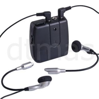 Motorcycle Helmet Intercom 2 Way Headset Mic for iPod
