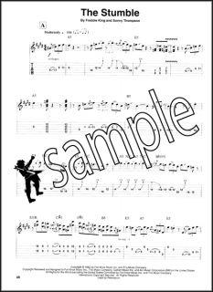 Blues Instrumentals Guitar Play Along Tab Book CD BB King Eric Clapton