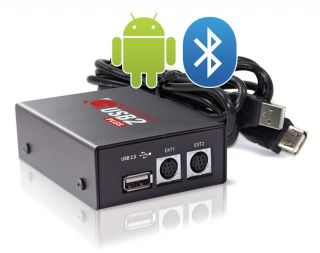 USB Adapter Interface iPhone iPod Droid Bluetooth AUX BMW TRUNK