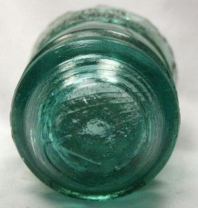 Hemingray NO12 Insulators Antique Vtg Pat May 2 1893 Aqua Green Blue