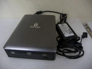 Iomega DVDRW16XU2 DVD RW 16X Super External Multi Burner Drive w/ AC