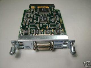 Genuine Cisco WIC 2T 2 Port Serial Interface Card