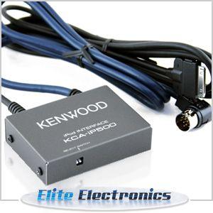 Genuine Kenwood KCA IP500 iPod Interface Kit Cable Car