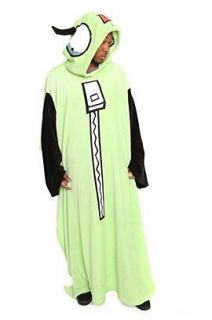 New Invader Zim Gir Soft Comfy Cozy Costume Snuggie Sleeves Throw