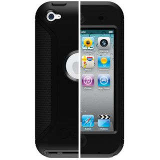 OTTERBOX DEFENDER CASE iPOD TOUCH 4th GENERATION BLACK BRAND NEW IN